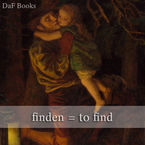 finden - to find: DaF Books vocabulary list