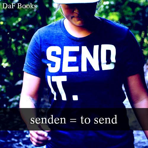 senden - to send: DaF Books vocabulary list