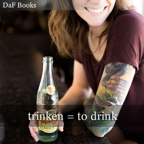 to drink - trinken