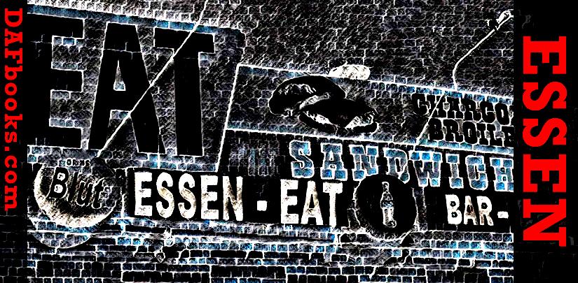 Sven, wir essen hier vegetarisch.