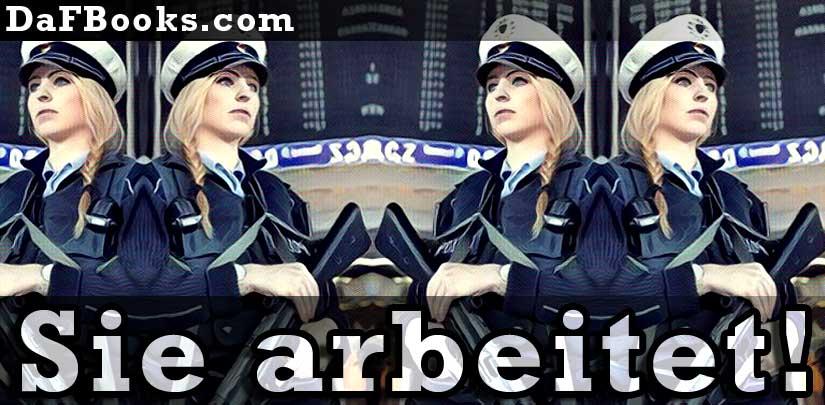 Doktor Lea Greber arbeitet als Slot-Aufseherin in Pirna.