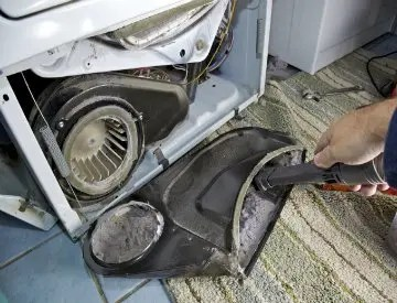 This year make cleaning out your dryer vent and HVAC ducts part of your spring cleaning routine. ©iStockphoto.com/pastorscott