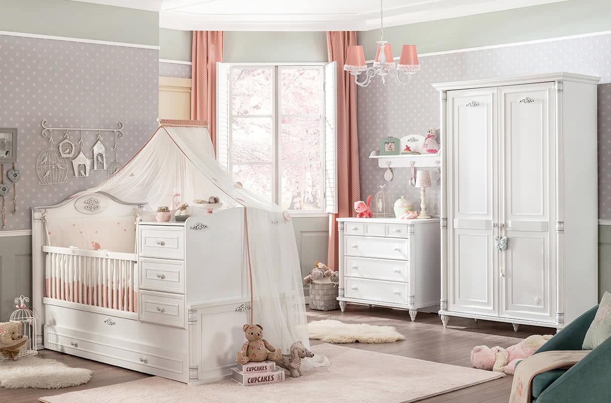 赤ちゃんと一緒に成長する寝室