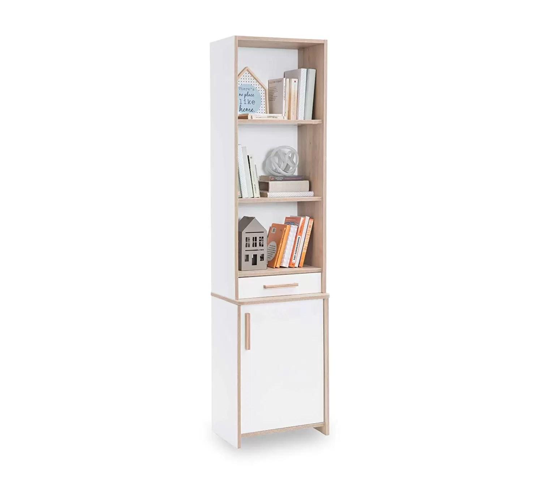 Libreria Design Camera Da Letto libreria per cameretta da bambino o ragazzo - libreria con scaffali e  cassetto - si abbina ad una camera da letto con confortevole ambiente  lavorativo