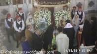Λιτάνευση Αγίας Βαρβάρας Δάφνης 2014