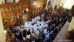 Ιερός Ναός Αγίου Δημητρίου Αττικής. Πανηγυρικός Εσπερινός 25.10.2016
