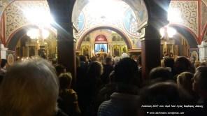 Ι. Ναός Αγ. Βαρβάρας Δάφνης - Ανάσταση 2017