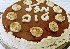 עוגת מוס שוקולד מוקה מושלמת ופרווה