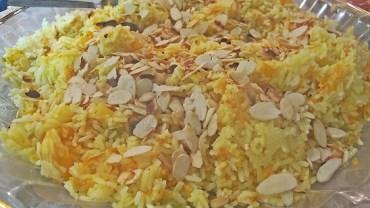 איצ' פילאף – אורז בתערובת פירות יבשים