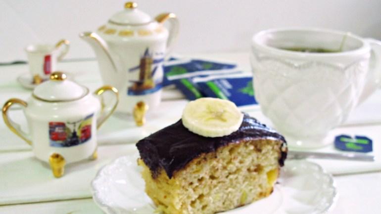 נענע בננה עוגת תה נענע ובננות מופלאה