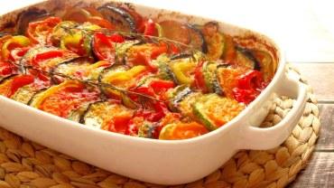 רטטוי ירקות צבעוני וטעים להפליא