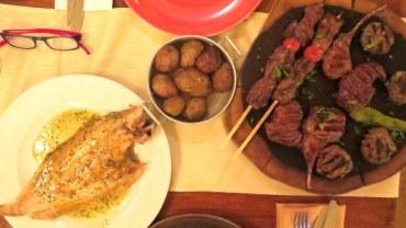 24 שעות קסומות בירושלים, חלק ב': מסעדת דולפין ים