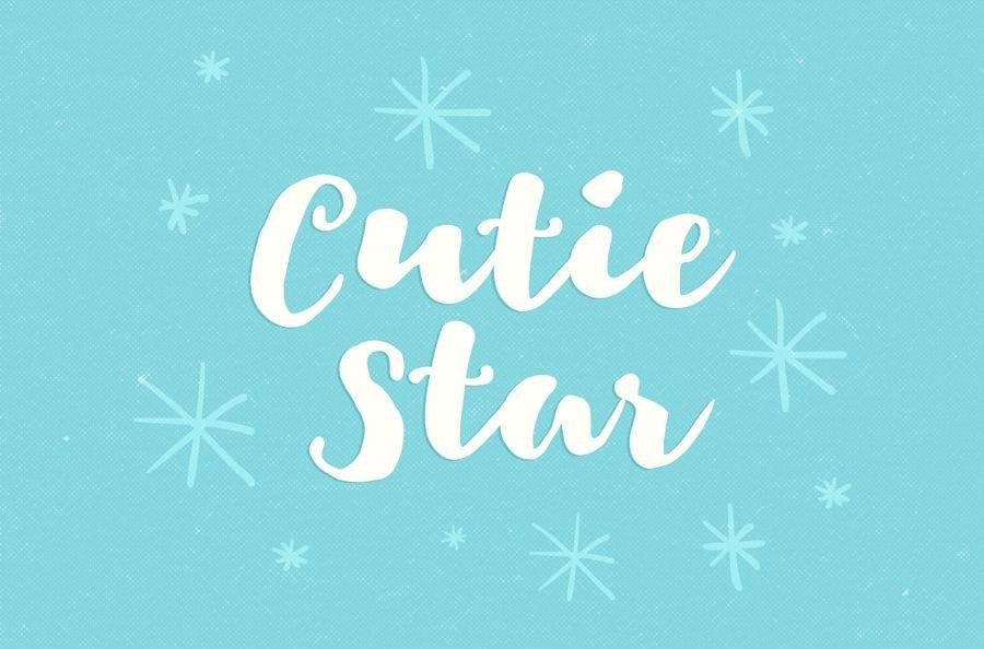 Cutie-Star-Free-Font-1