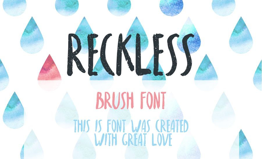 Reckless-Font