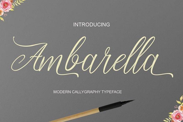 Ambarella-Font