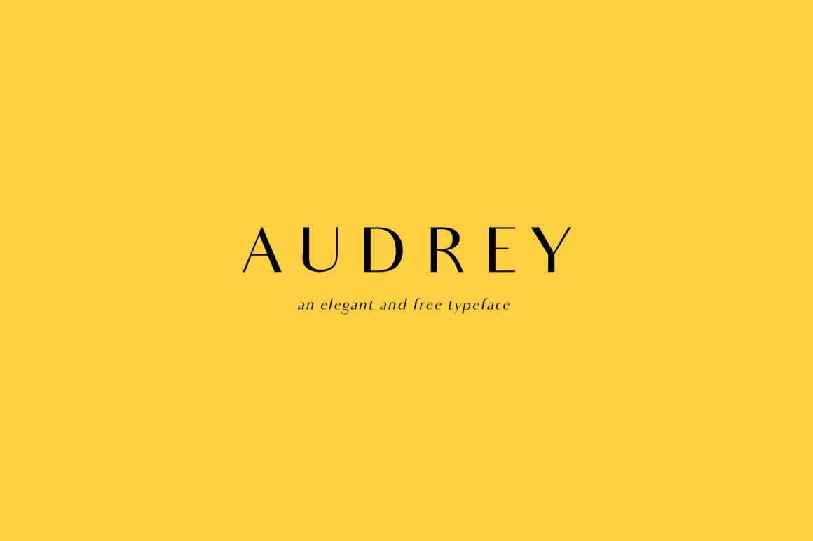 Audrey-Font