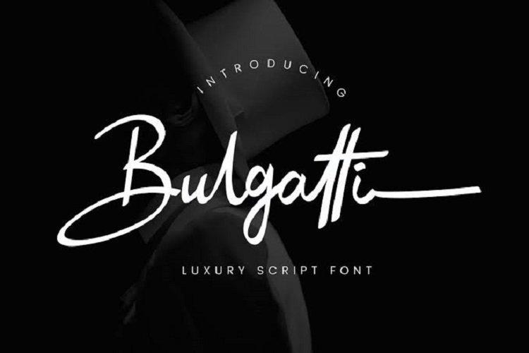 Bulgatti Luxury Script Font Free