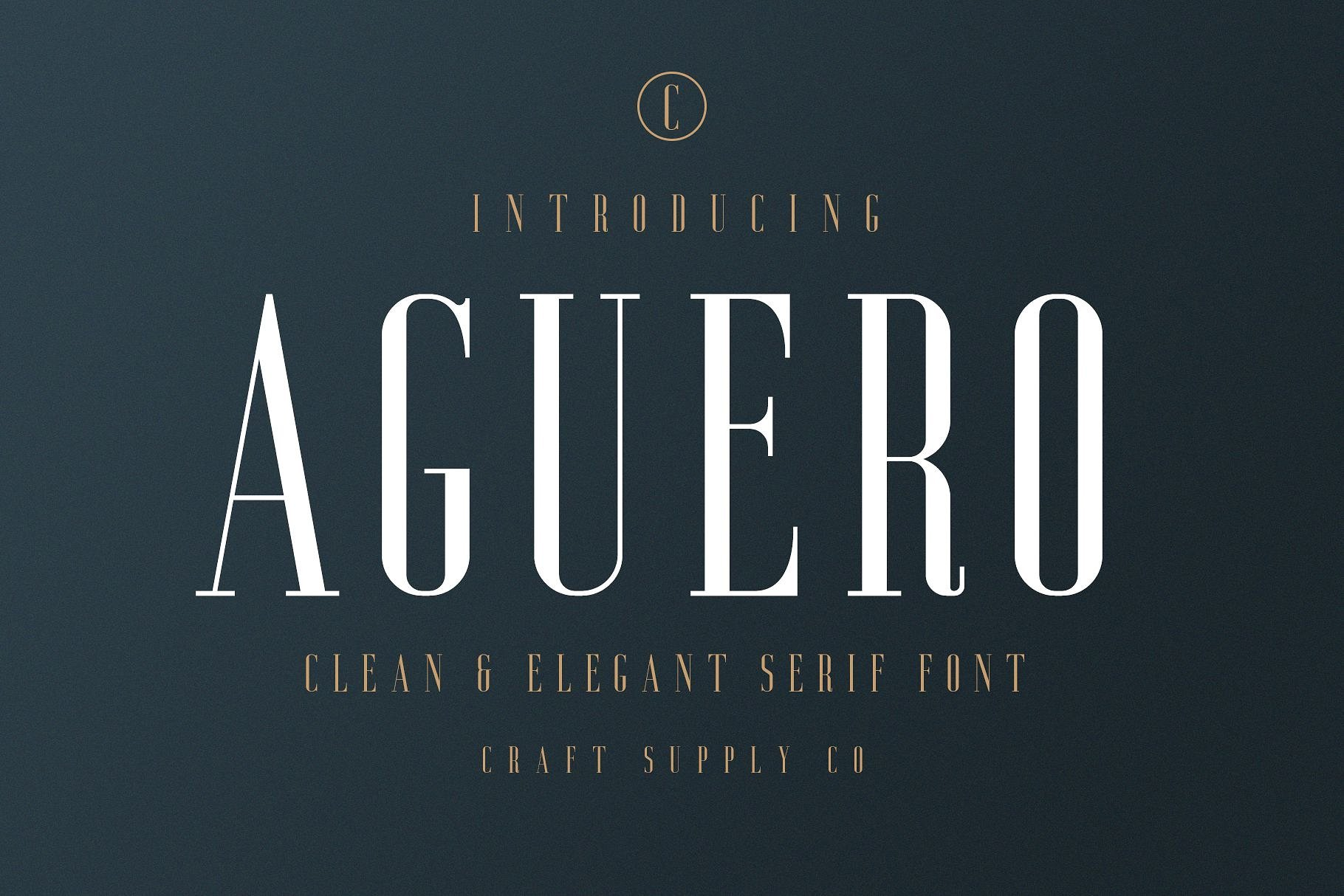 aguero-serif-font