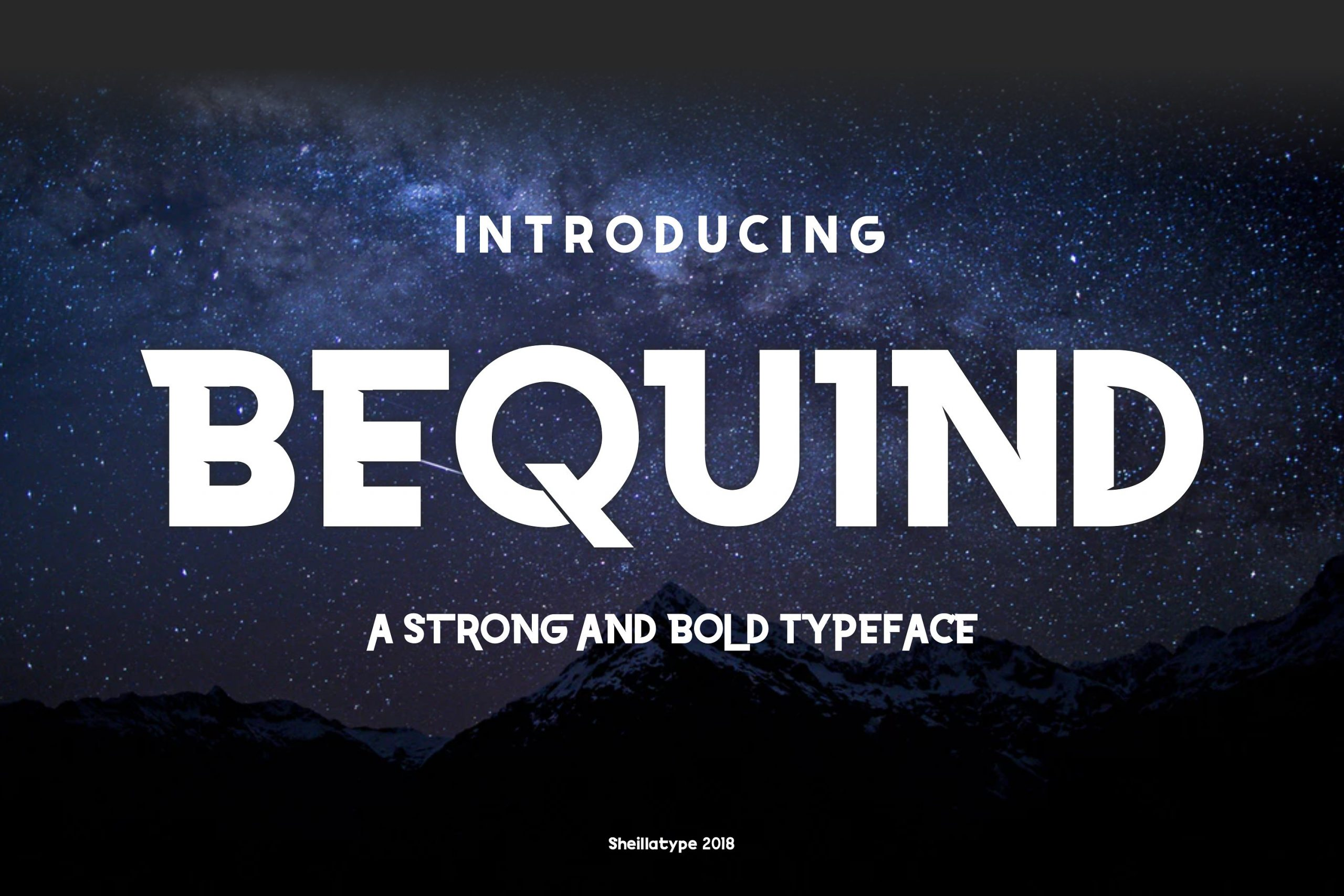 bequind-dysplay-font