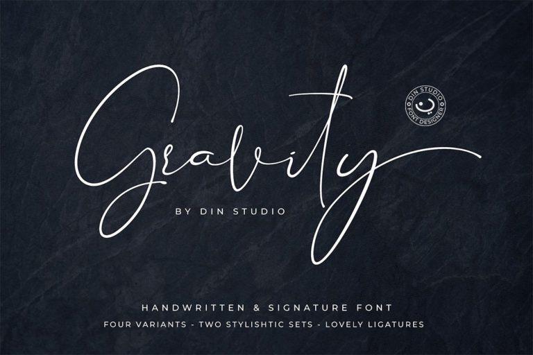 gravity-signature-font-768x512
