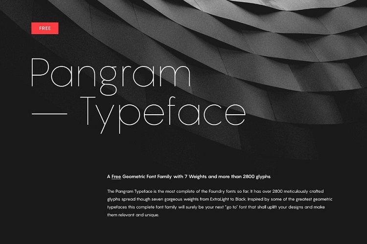 pangram-sans-font-family