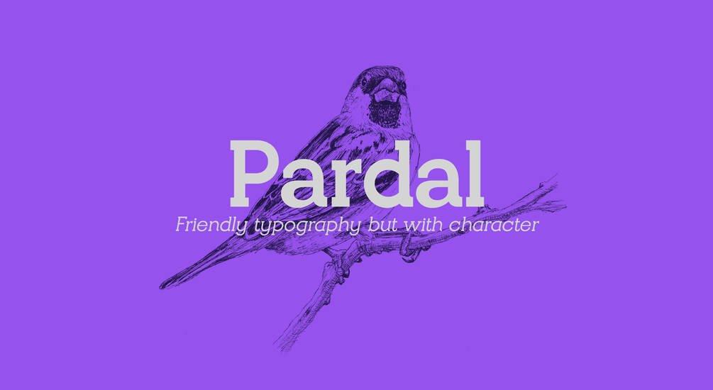 pardal-font-family