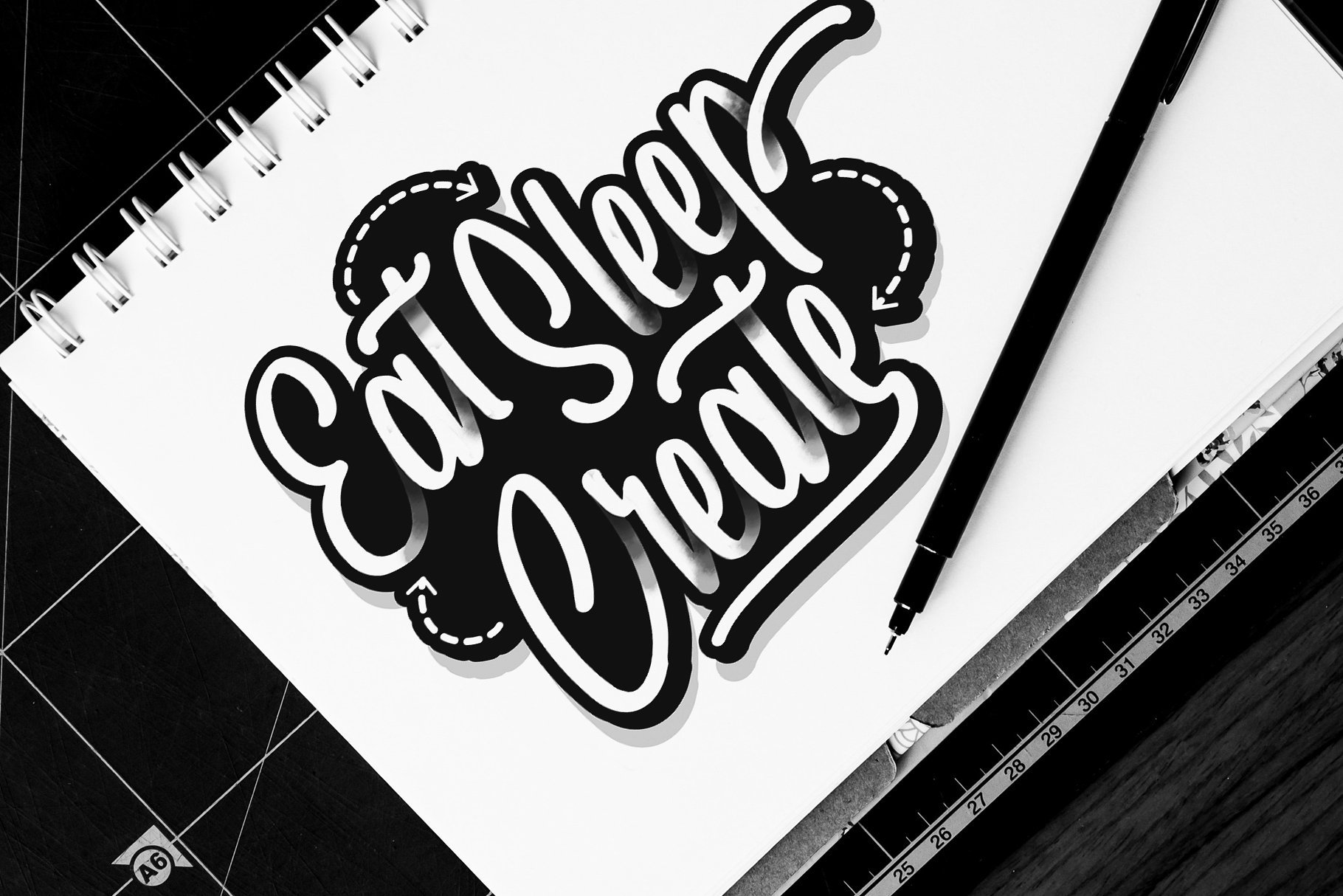spydolls-script-font-4