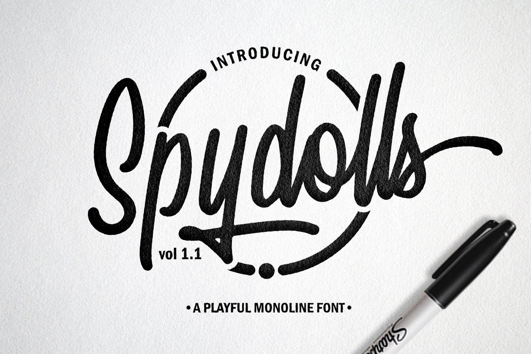spydolls-script-font