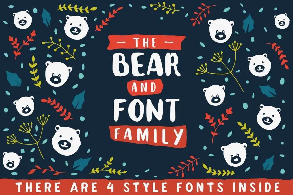 the-bear-font-family-1
