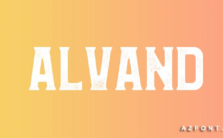 Alvand Font Family Free1
