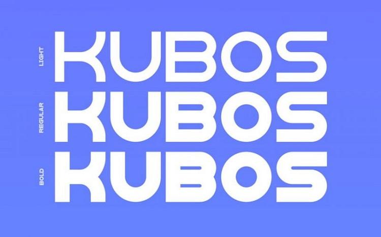 Kubos Display Typeface Free1
