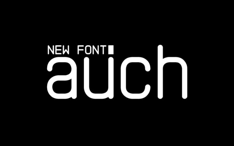 auch-free-font
