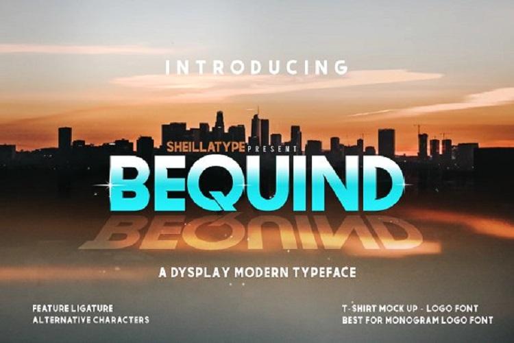 bequind-a-modern-dysplay-font