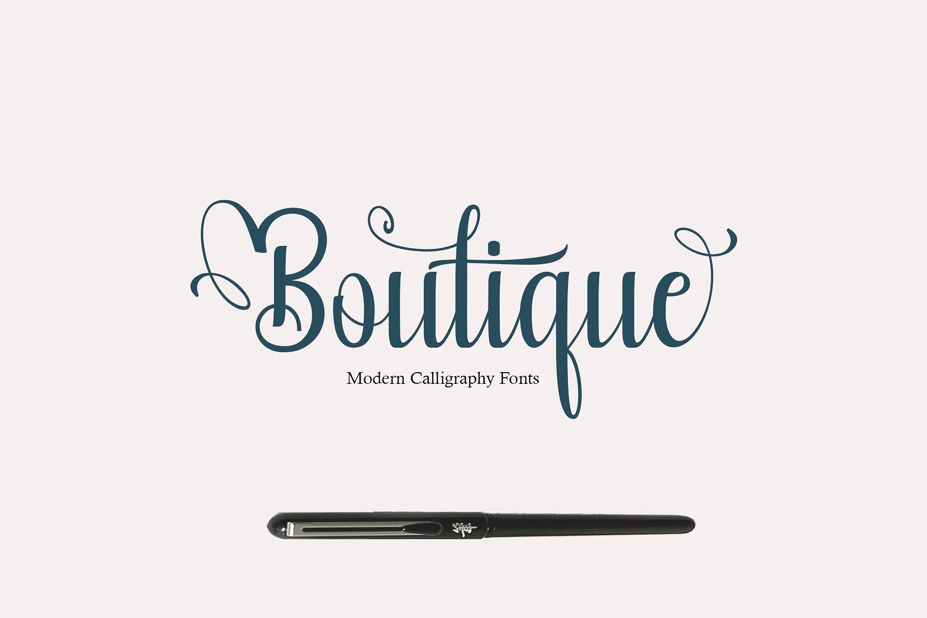 boutique-calligraphy-font