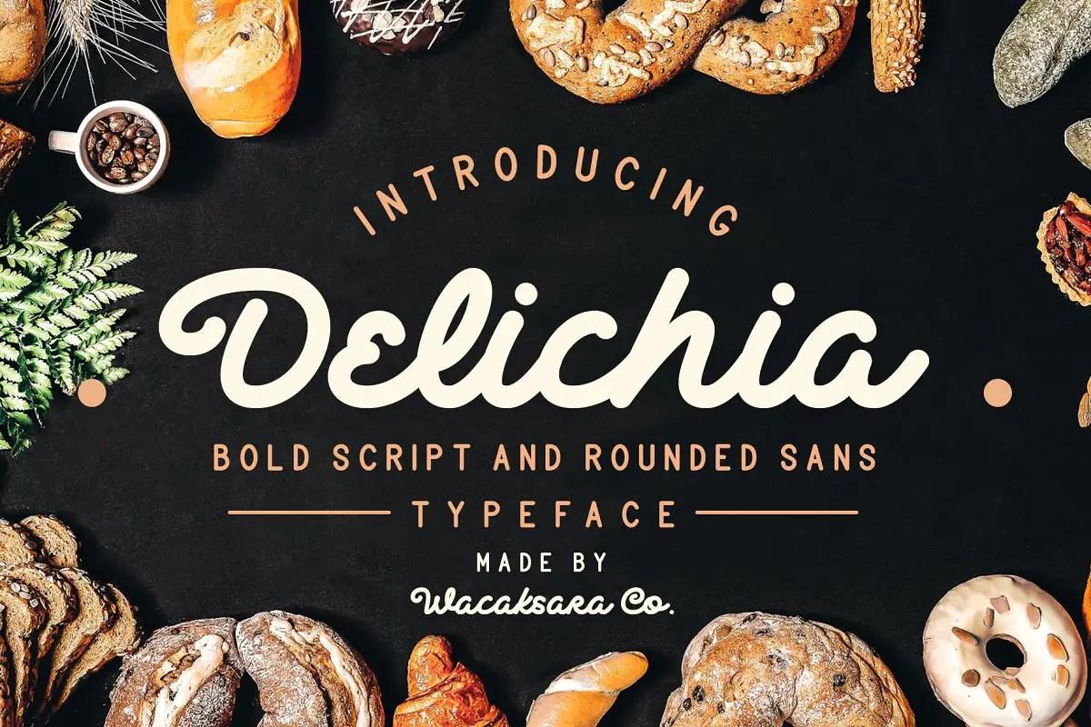 delichia-bold-script-font
