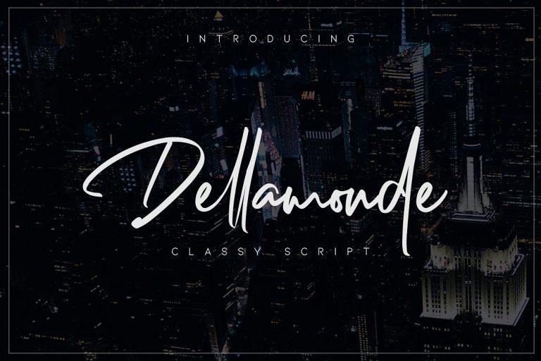 dellamonde-script-font-768x512