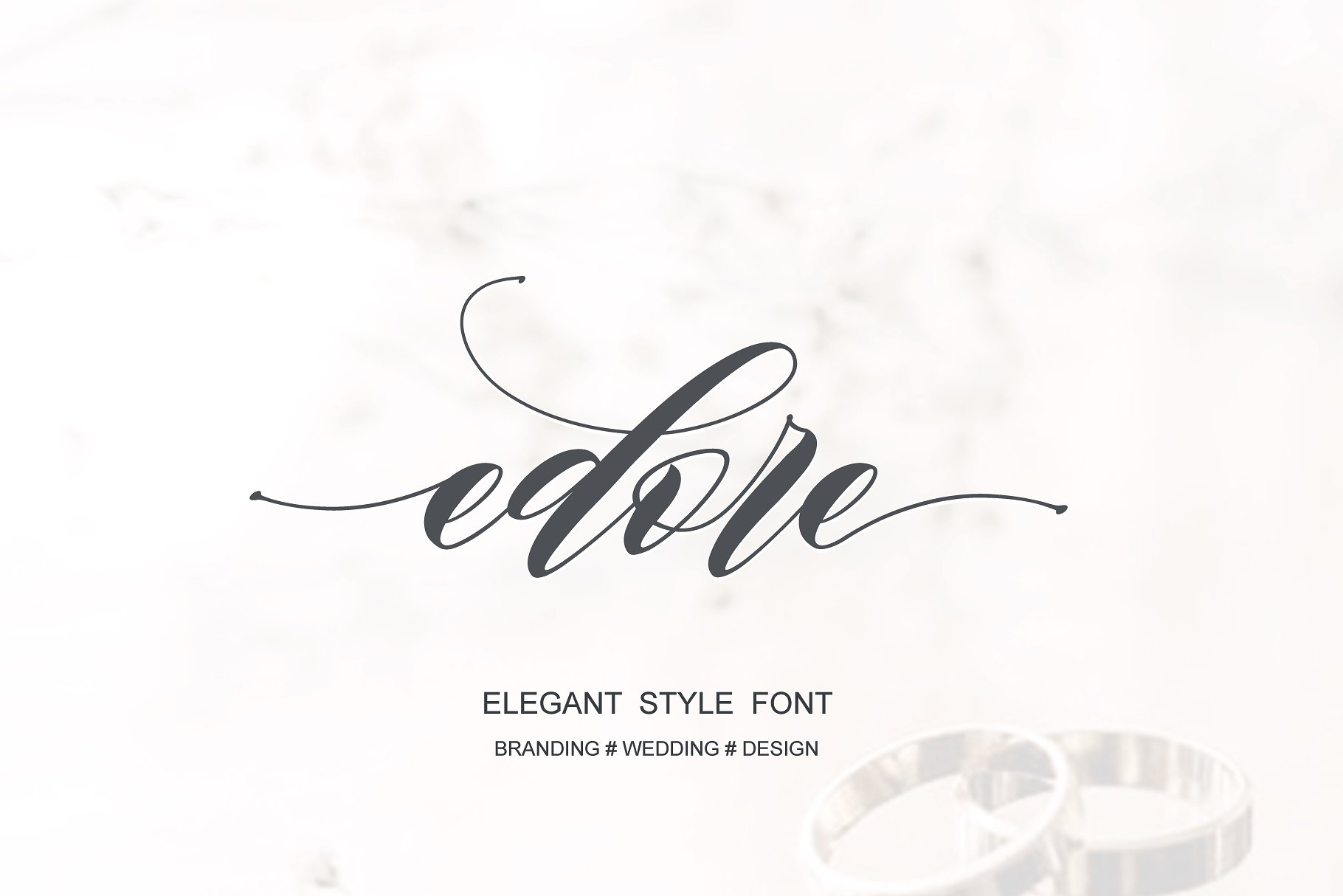 edore-script-font