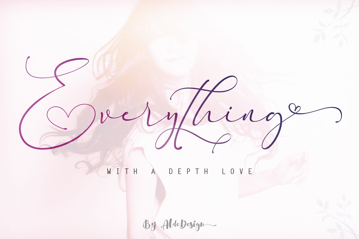 everything-calligraphy-font