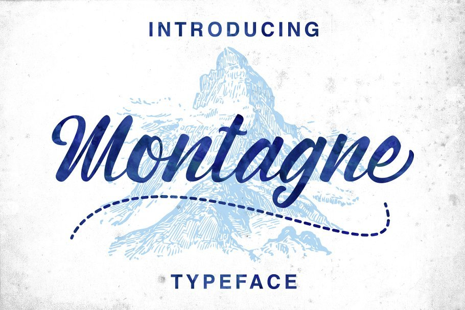 montagne-script-font