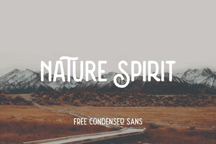nature-spirit-vintage-font