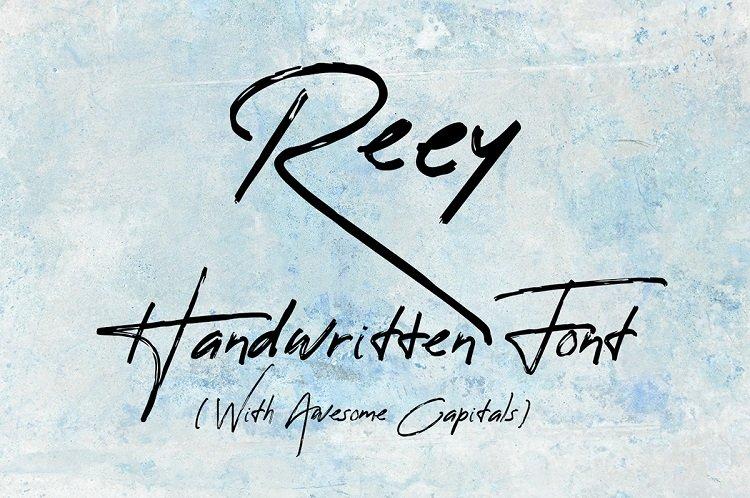 reey-script-font