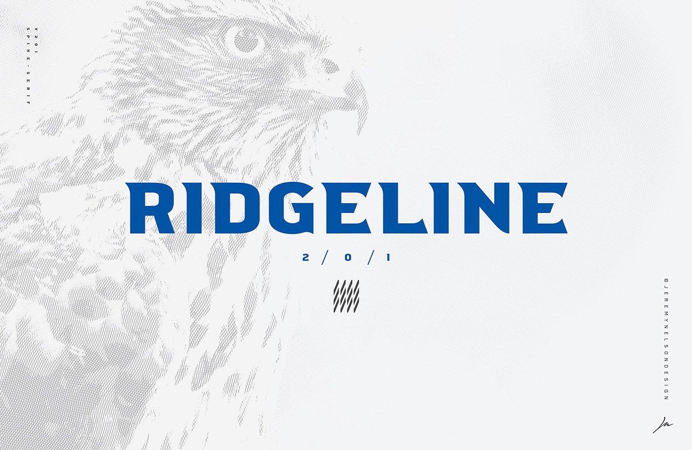 ridgeline-201-typeface