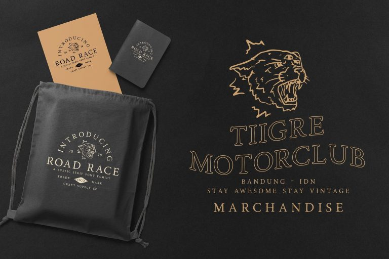 road-race-typeface-2-768x512