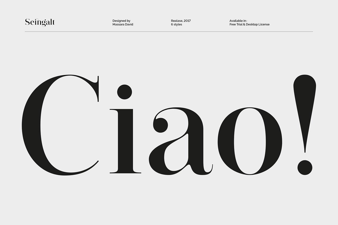 seingalt-typeface