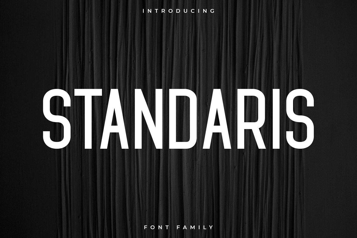 standaris-font-family