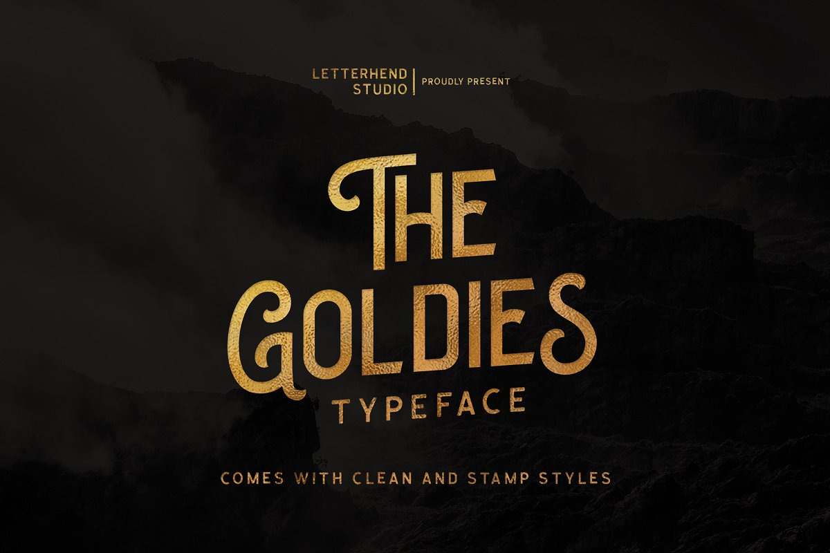 the-goldies-display-font