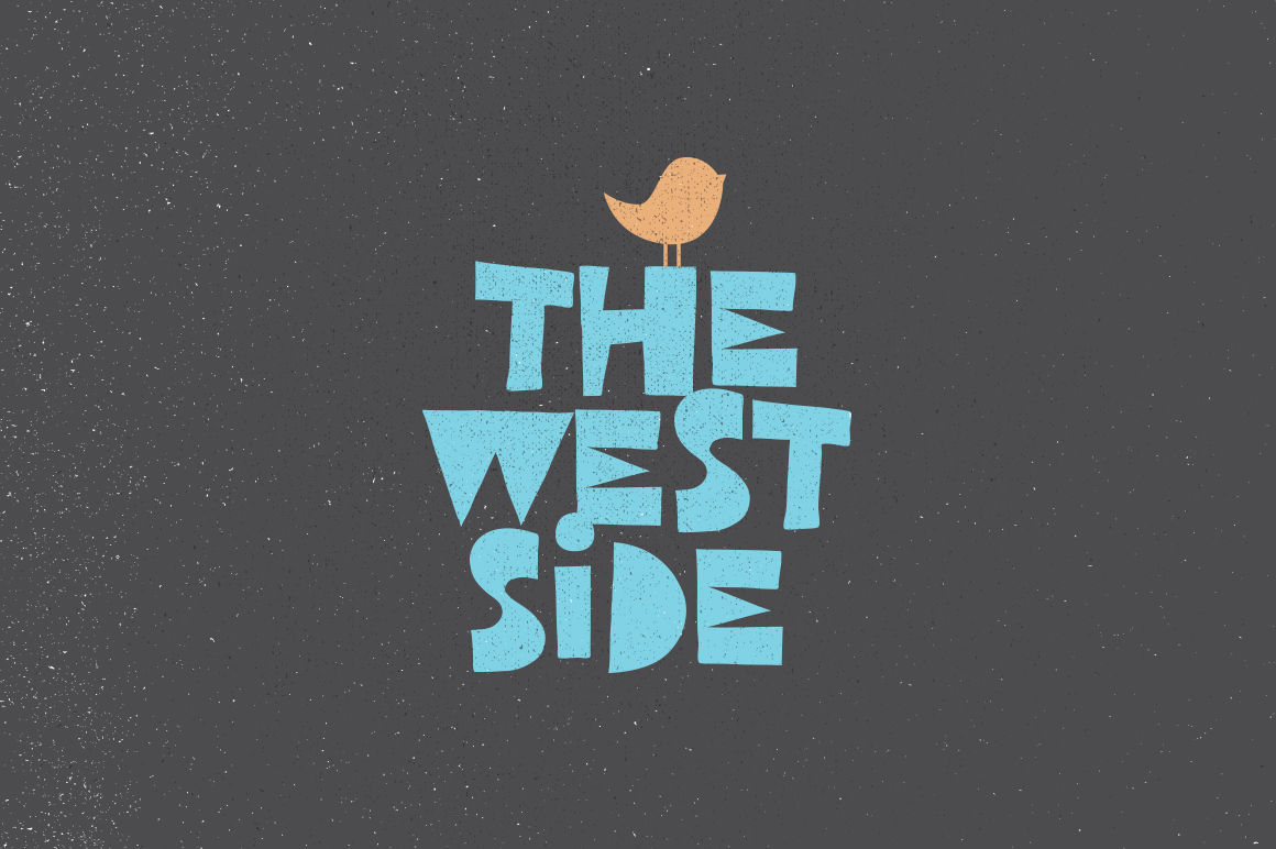 west-side-typeface