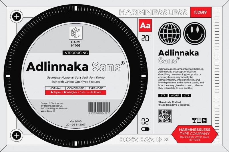 adlinnaka-font-family