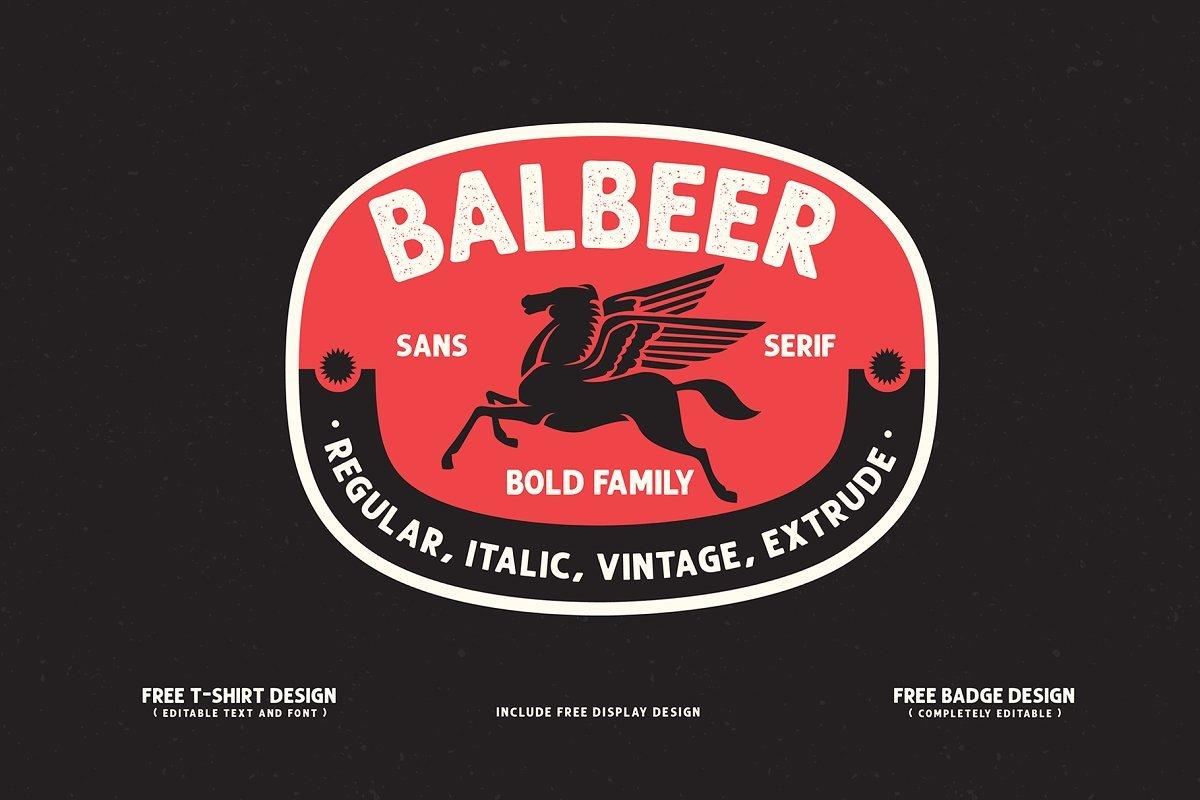 balbeer-font-family