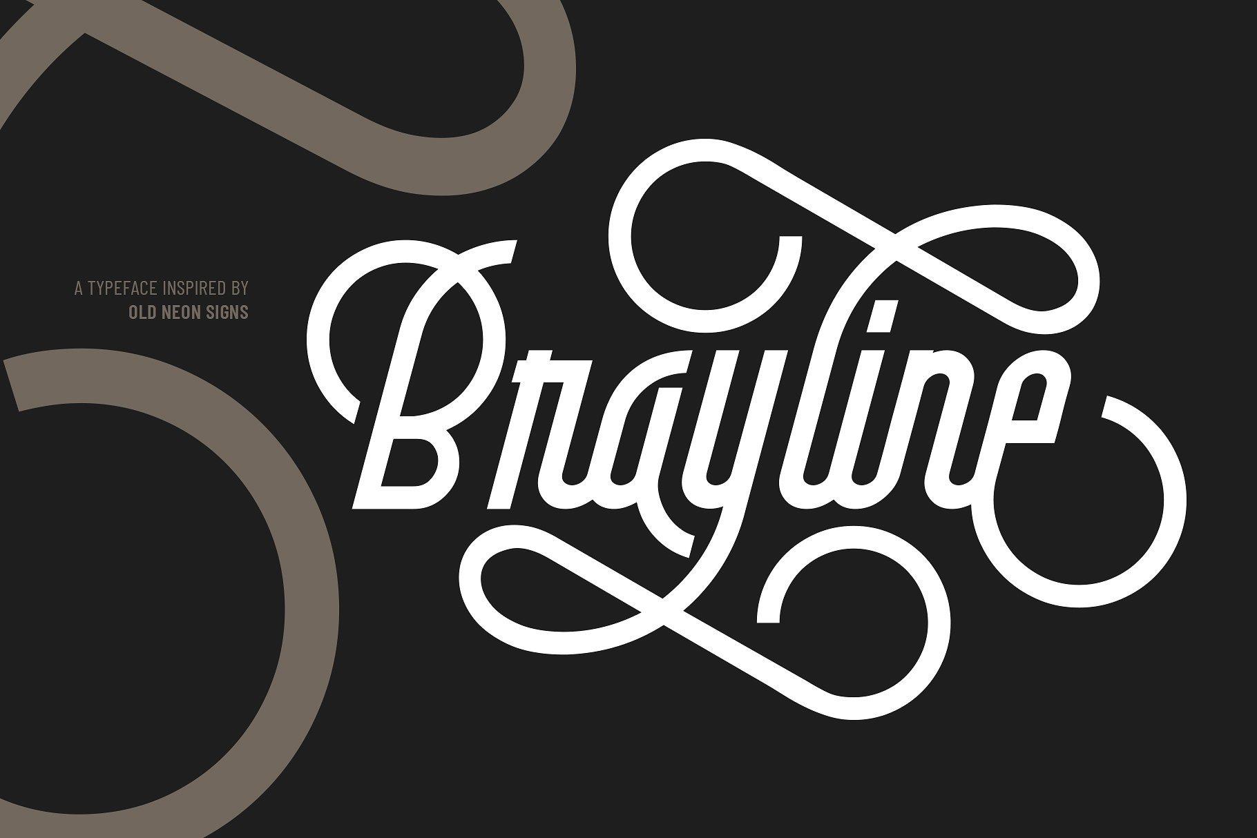 brayline-typeface
